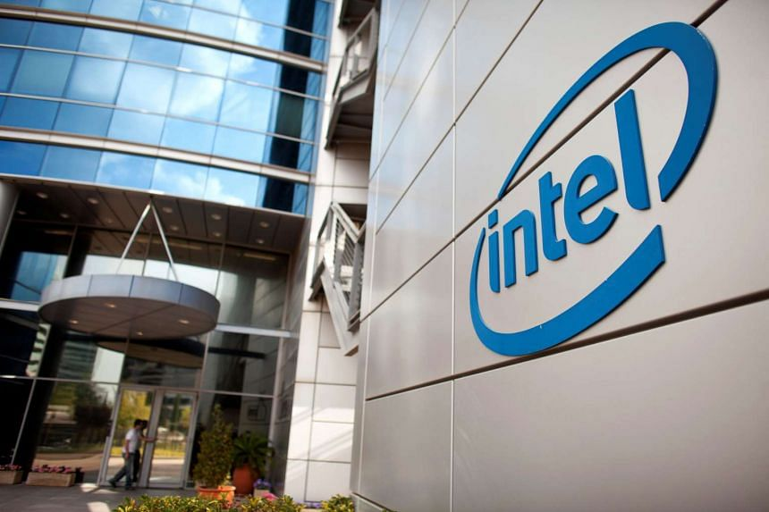 An Intel logo is seen at the company's offices in Petah Tikva, Israel. Intel, the world's largest chipmaker, is offering a new memory chip package it says will improve desktop performance in a way that consumers will be willing to pay for.