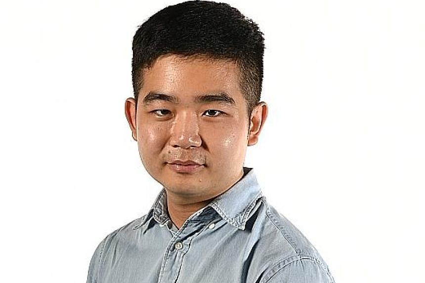 Young playwrights such as Thomas Lim (above), 26, who wrote Grandmother Tongue, are up against veterans in the Best Original Script category of the M1-The Straits Times Life Theatre Awards.