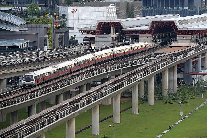 The current fixed-block signalling system has been in use for 30 years, since the NSL started operations. The new communications-based train control system will allow trains to run closer together, and arrive at intervals of up to 100 seconds during