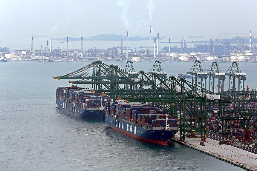 CMA CGM is ramping up the capacity of the terminal it jointly runs with PSA at Pasir Panjang to four million standard-sized containers.