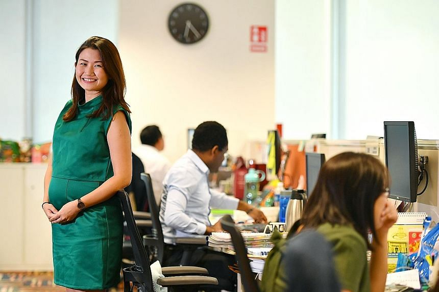 Ms Li-Hoskin, a StanChart client manager who is six months pregnant with her first child, is looking forward to a full 20 weeks of maternity leave, come June. Until now, the bank had been offering 16 weeks of maternity leave and four weeks of adoptio