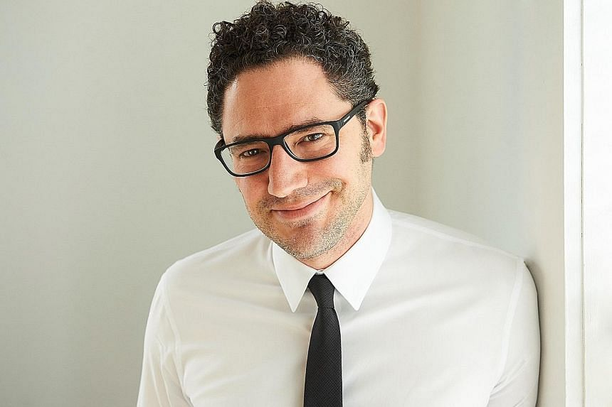 Canadian writer Elan Mastai (above) marries utopian societies and time travel in his debut novel, All Our Wrong Todays.
