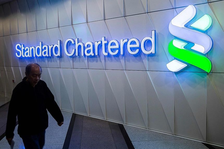 Standard Chartered is spending US$200 million (S$280 million) annually over two years to improve its financial crime compliance-related programmes, according to Mr Gorriz, its chief information officer .