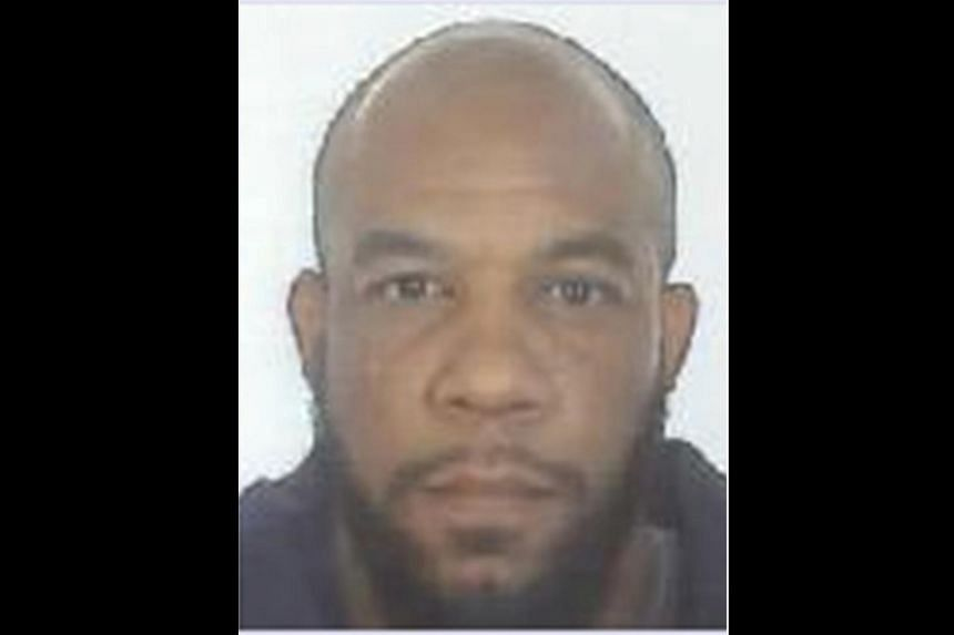 A handout photograph released by the Metropolitan Police shows a mugshot of Khalid Masood, received in London on March 24, 2017.