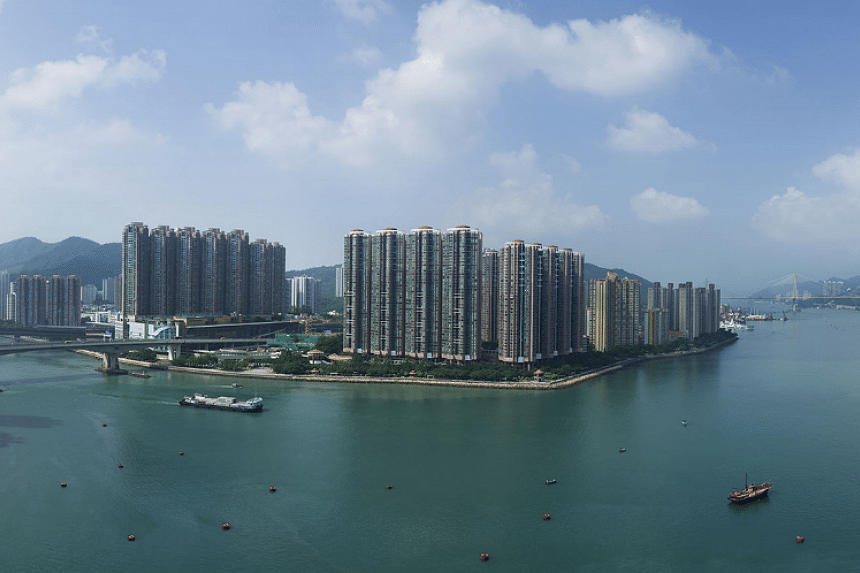 A one-bedroom flat in the Pavilia Bay development has been offered at a record price of HK$10.08 million (S$1.8 million).
