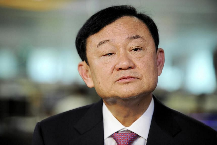 Thailand's former prime minister Thaksin Shinawatra during an interview in Singapore, on Sept 24, 2012.
