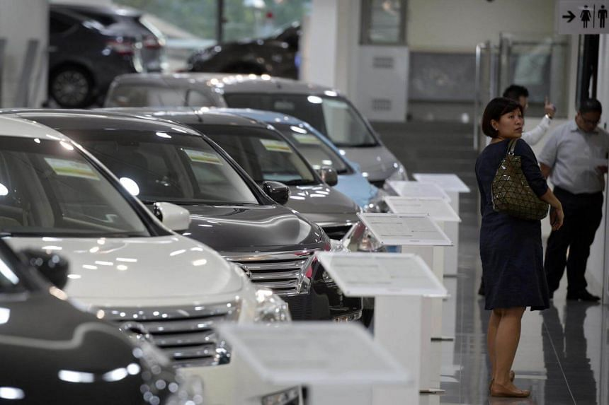 The Tan Chong Motor showroom, a distributor for Nissan cars, in Leng Kee Road. Tan Chong says that in Singapore, the Nissan and Subaru brands performed strongly in 2016.