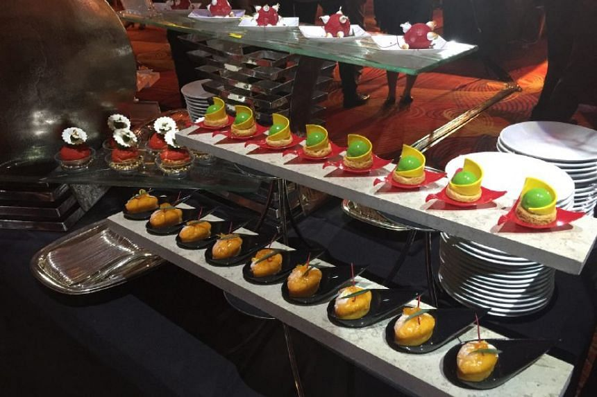 The dessert spread at the Best Asian Restaurants gala reception on March 29, 2017.