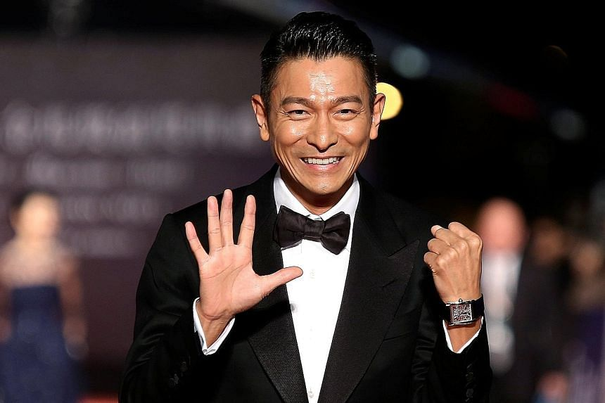 The 20 concerts by Hong Kong singer Andy Lau (above, in a 2013 photograph), to be held in Hong Kong in December, have been called off.