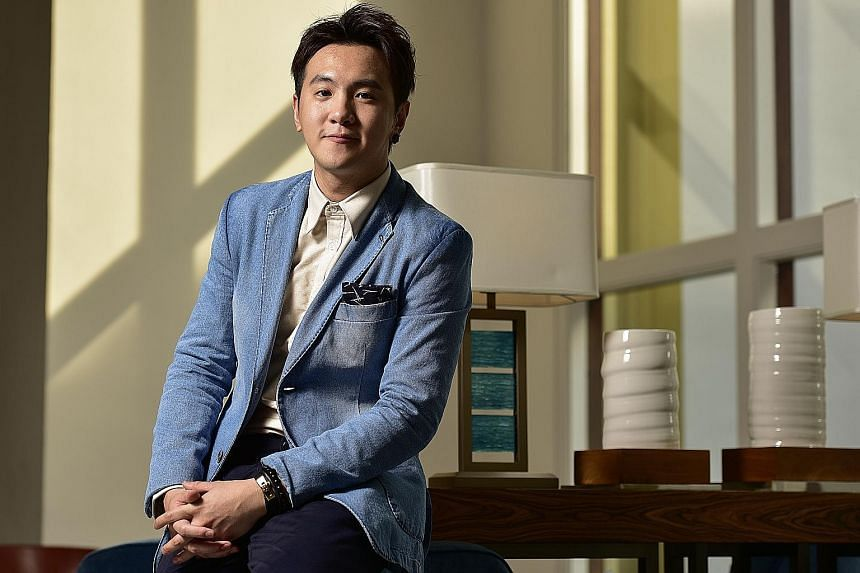 Ian Fang plays the struggling musician and Hoon Mei Sim is his feisty wife in Goodbye Mr Loser.