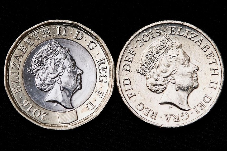 The new 12-sided £1 coin replaces the old round £1 coin, in the first change to the coin's shape since it was introduced in 1983.