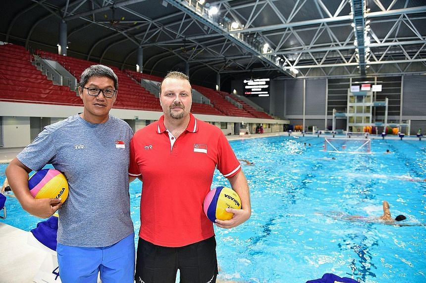 Water polo coaches Lee Sai Meng and Dejan Milakovic have identified key areas they want the national teams to improve on.