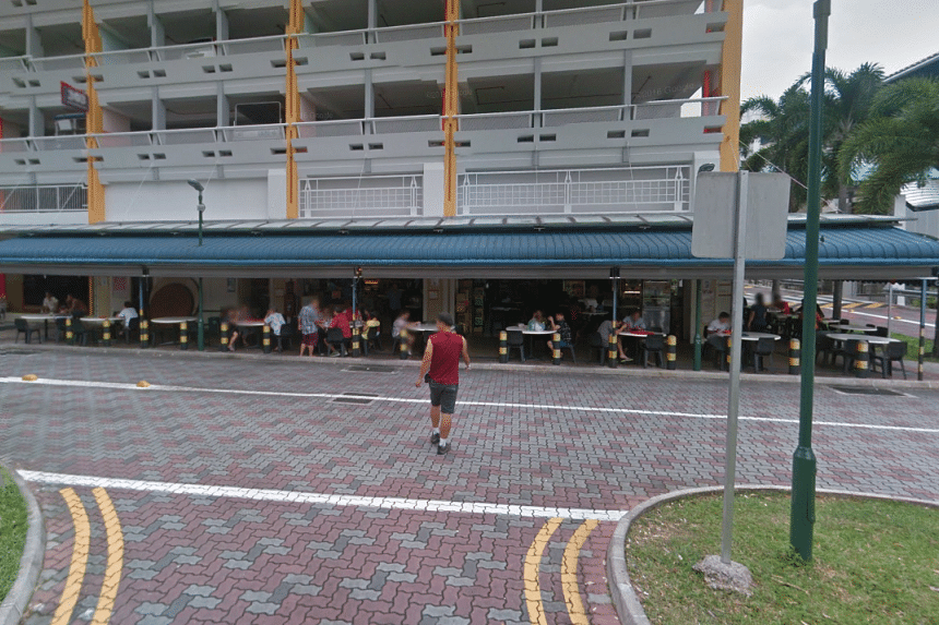 The incident occurred at a coffee shop at Block 303, Anchorvale Link in Sengkang at around 10pm on July 8, 2015.