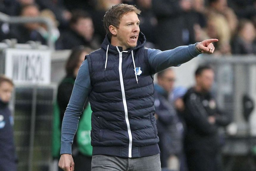 At 29, Julian Nagelsmann is the youngest head coach in Bundesliga history and was last week named coach of 2016 in Germany.