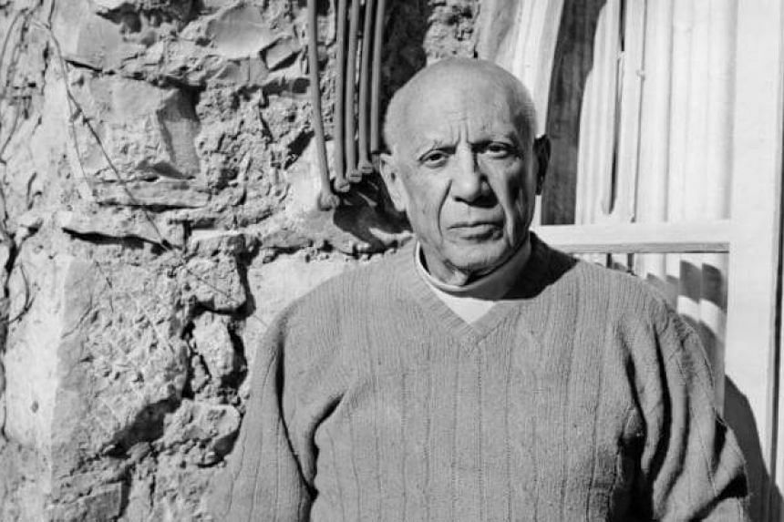 This file picture dated Feb 3, 1968, shows spanish painter and sculptor Pablo Picasso.