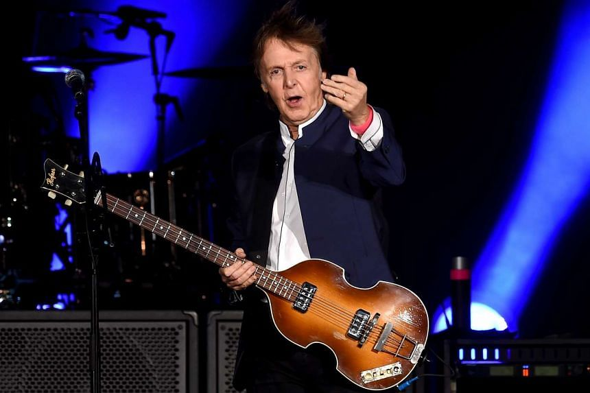 "Paul McCartney said in a radio interview that he was ""in the middle"" of a new album, his first since 2013."