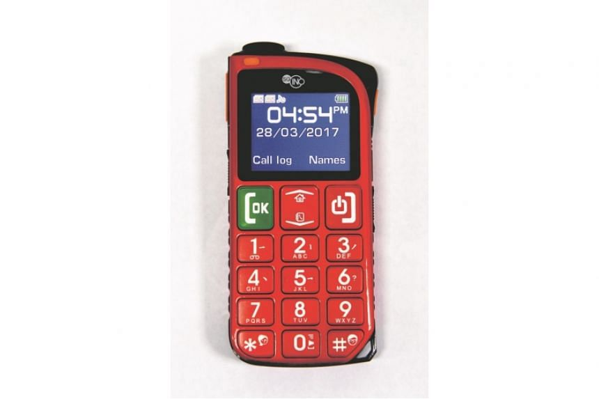The SGIno Simple 3G phone is one of several 3G feature phones available here. It is targeted for seniors.