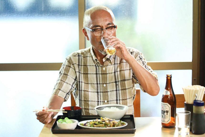 Naoto Takenaka plays a retiree who embarks on a series of little culinary adventures in Samurai Gourmet.