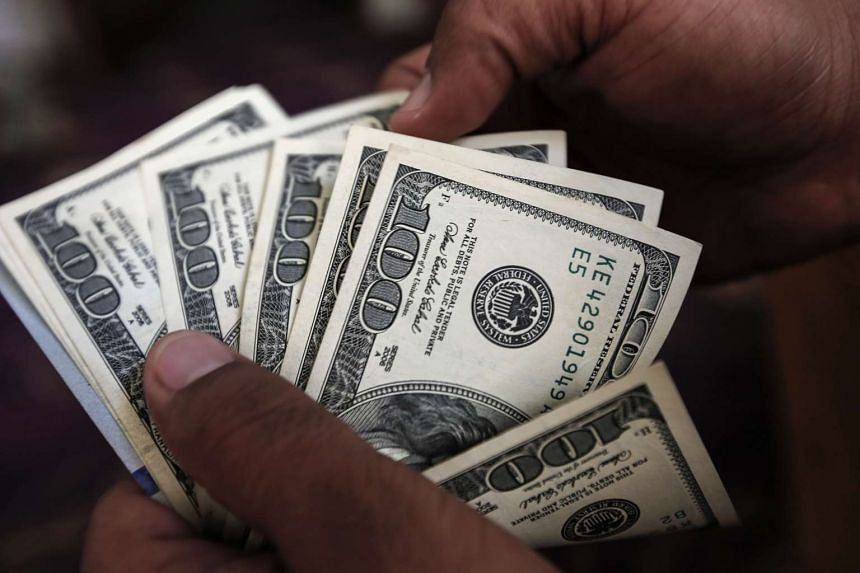 The dollar strengthened against most major currencies in midday trading after being flat to lower earlier in the day.