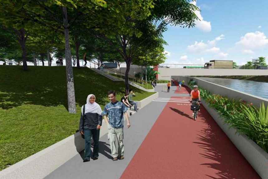 Underpasses at Kallang Bahru could provide barrier-free access.