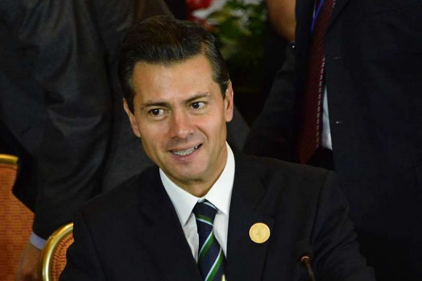 Mexico's President Enrique Pena Nieto, attends a one-day summit that gathered leaders from Mexico, Central America and Colombia.