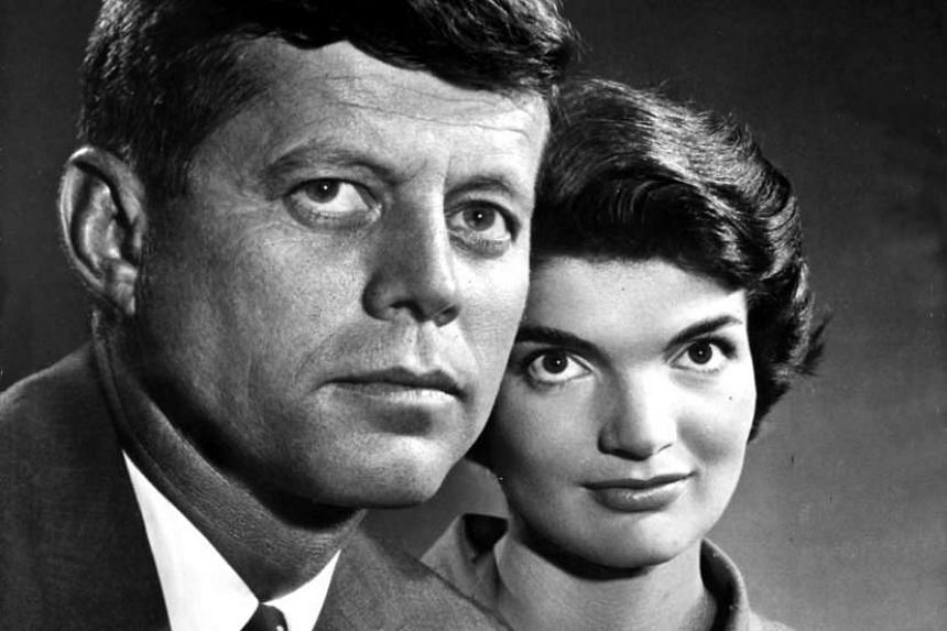 Jackie Kennedy and her husband John F. Kennedy.