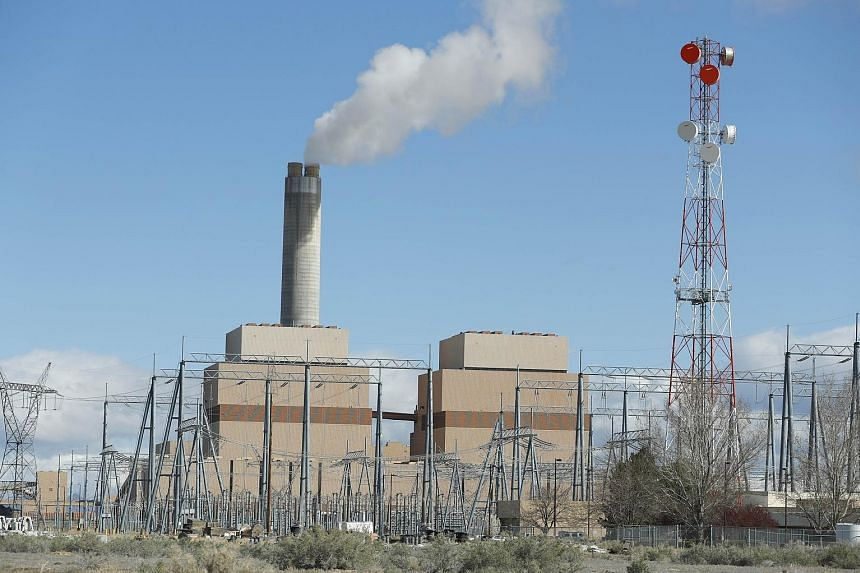 A coal-fired plant in Utah.
