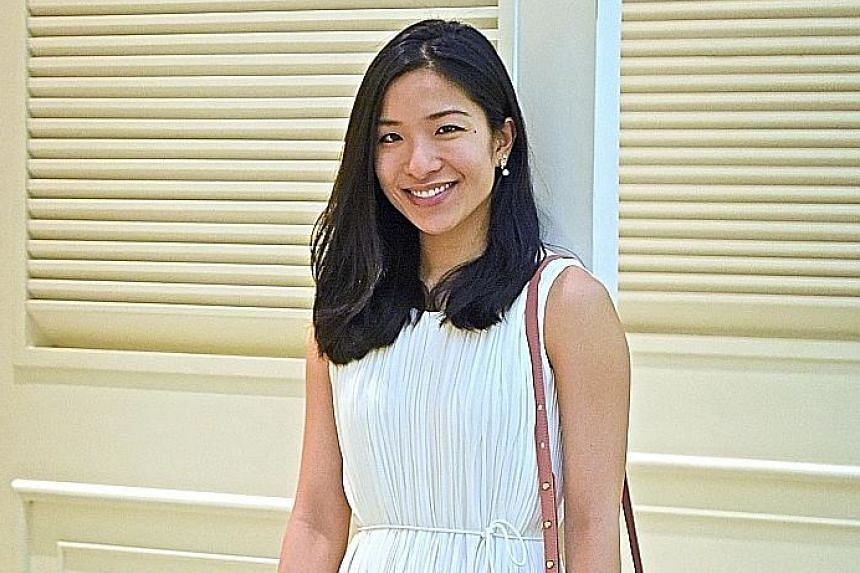 Ms Lois Tien is the brand manager of Anagram, a clothing line under the G2000 group aimed at working women in their early 30s.