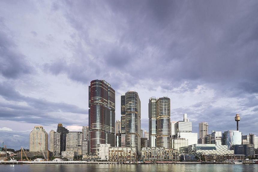 Lendlease will be hoping to replicate the success it has enjoyed with its development in Barangaroo South in Sydney (above) at its Paya Lebar Quarter project in Singapore.