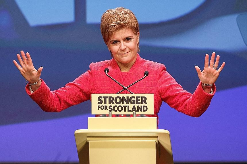 Ms Sturgeon is adamant that the independence vote take place between autumn 2018 and spring 2019, after enough details on Brexit are in place and before the Scots are forced into Brexit, which they did not vote for.