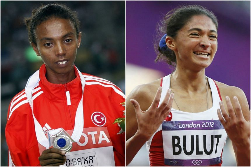 Elvan Abeylegesse (left) and Gamze Bulut (right) are to be stripped of their silver medals from the 2008 and 2012 Olympic Games.