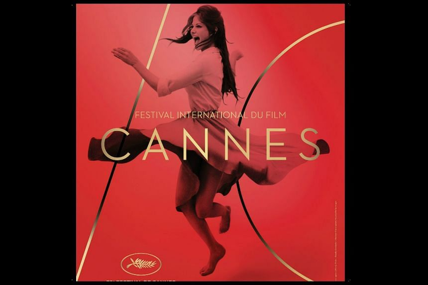The official poster for the 70th Cannes Film Festival shows Italian actress Claudia Cardinale dancing.