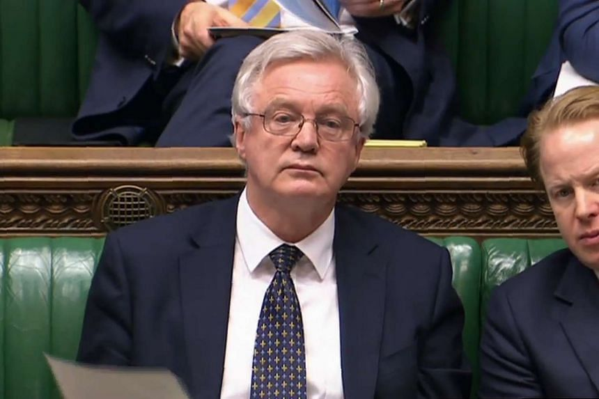 "Brexit minister David Davis told Parliament that the ""Great Repeal Bill"" will convert EU law into British law."