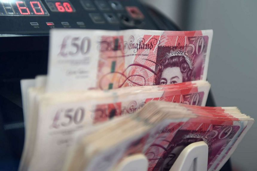 The pound skidded 1.1 per cent to 1.7333 against the Singapore dollar yesterday after British Prime Minister Theresa May signed a letter on Tuesday to formally start Brexit.