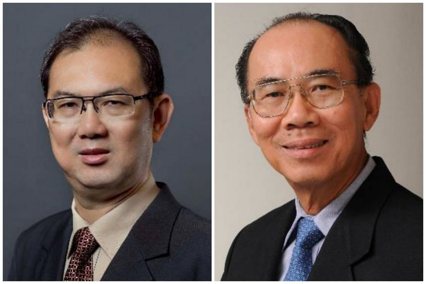 Mr Chiang Chie Foo (left) will take over from Mr Tan Gee Paw as Chairman of PUB with effect from April 1, 2017.
