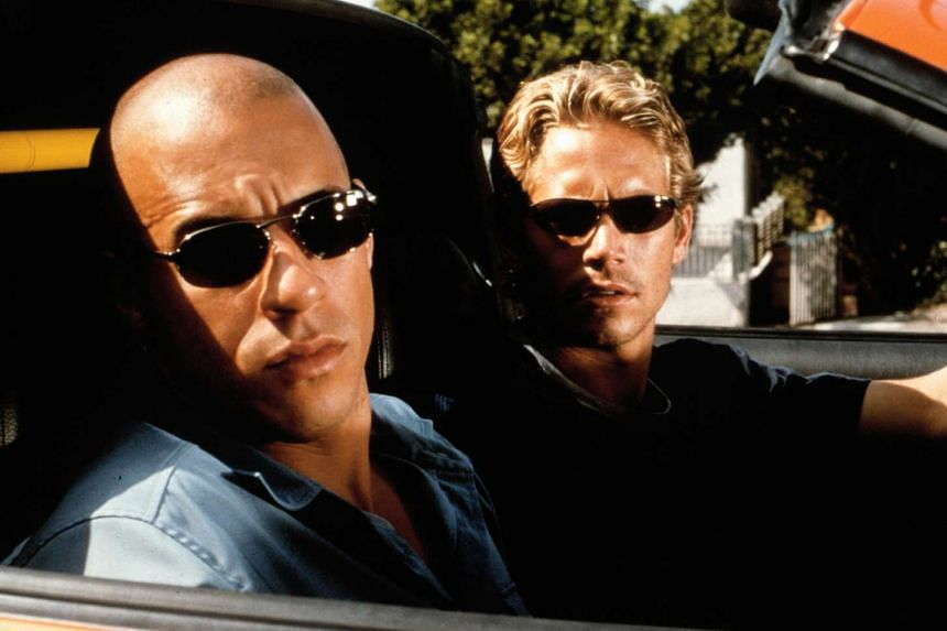 Cinema still from the movie The Fast And The Furious.
