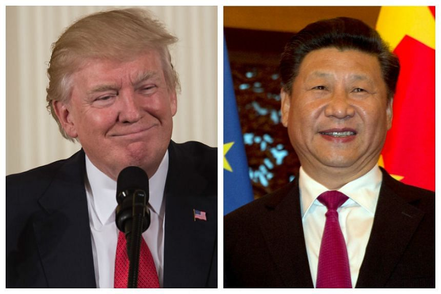 The meeting between Mr Xi Jinping and Mr Donald Trump will take place at the latter's resort, Mar-a-Lago.