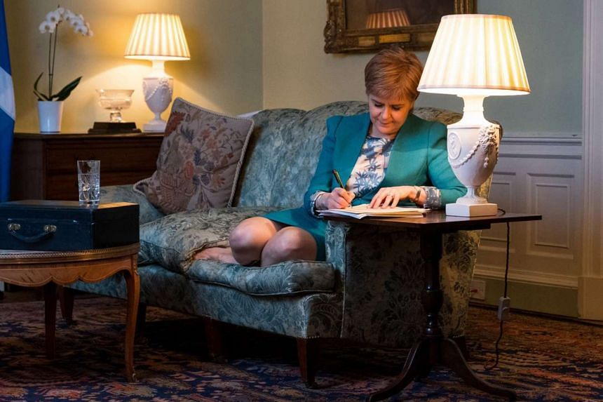 In her letter, Scottish First Minister Nicola Sturgeon formally demanded that Mrs May allow a second referendum to be held on Scottish independence.