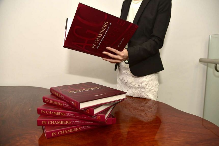 In Chambers: 150 Years of Upholding the Rule of Law, the first book to fully record the AGC's history, was launched on March 31.