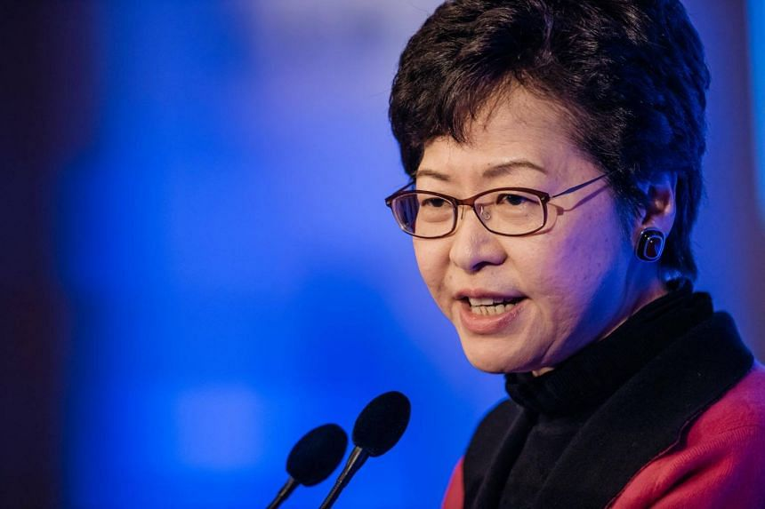 Hong Kong's new chief executive Carrie Lam will take office on July 1.