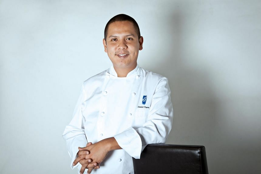 Chef Daniel Chavez, from Peru, says fusion cuisine is common in his home country because of Peru's history with Spanish, African, Arab, Chinese and Japanese influences. PHOTO: OLA