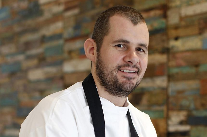 Chef Stephan Zoisl says Austrian food is served in big portions.