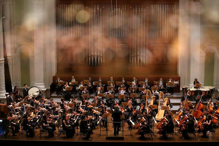 The Philharmonic Orchestra will perform all of Beethoven's nine symphonies over five concerts from tomorrow (April 1) to New Year's Eve.
