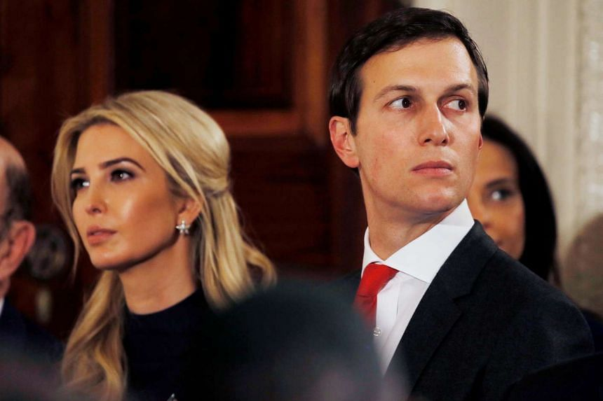 Ivanka Trump and her husband Jared Kushner are both officially close advisers to US President Donald Trump.