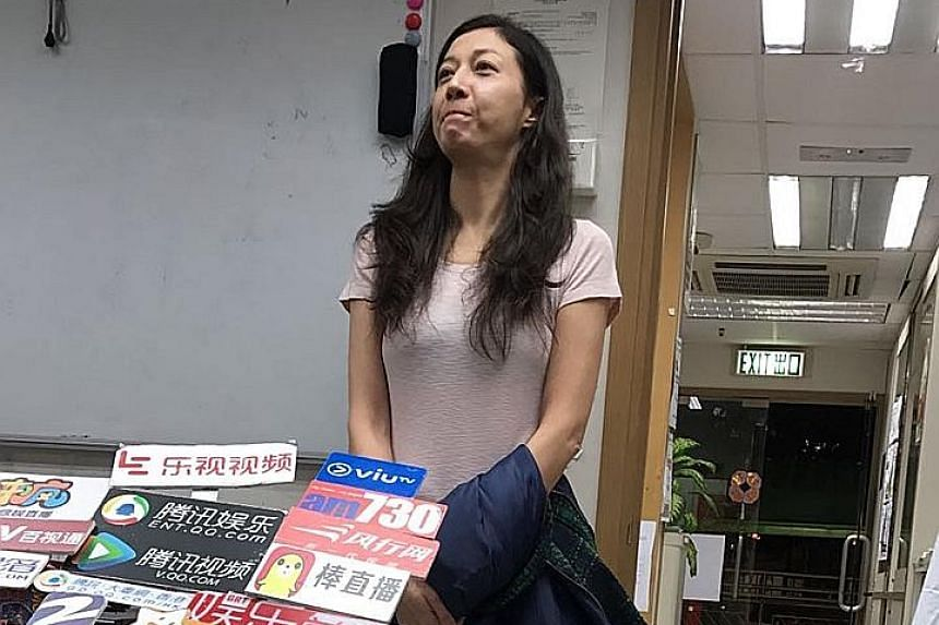 Former Miss Asia Elaine Ng was arrested after her daughter reported her to the police.