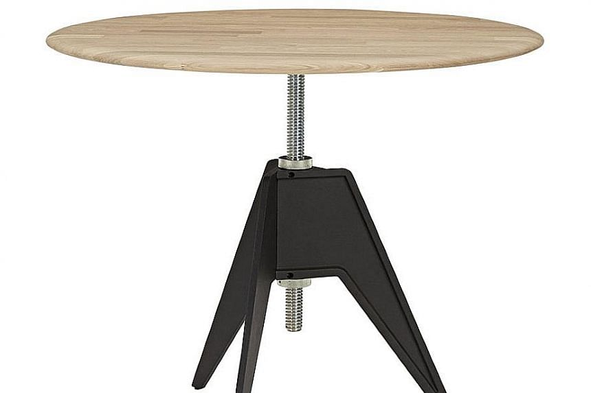 The design maverick is known for his furniture pieces such as the Screw side table (above).