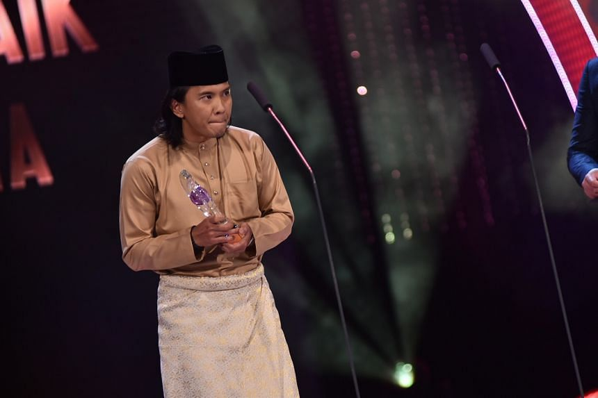 Malaysian actor Beto Kusyairy won Best Actor In A Leading Role (Drama Series).