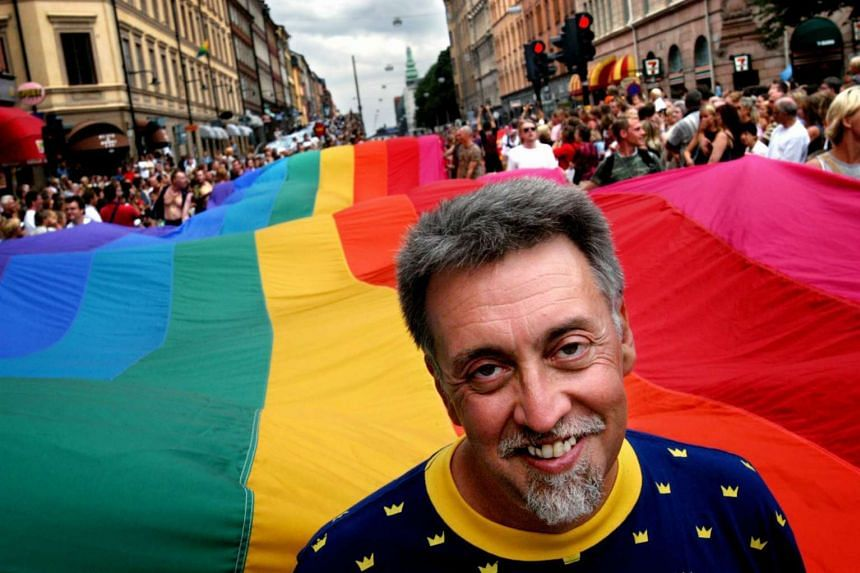 US artist and civil rights activist Gilbert Baker came up with the iconic eight-coloured banner for San Francisco's 1978 gay freedom day, a precursor to the modern pride festival.