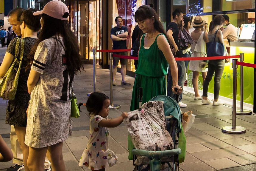 The Ministry of Education warned that the number of college students is expected to drop by 40 per cent between 2013 and 2028 due to Taiwan's low birth rate.