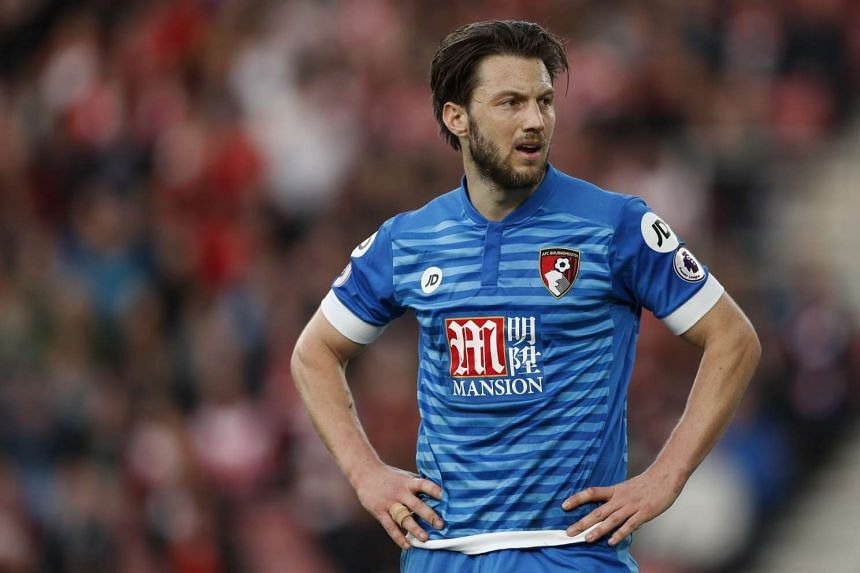 Bournemouth's Harry Arter looks dejected during the match.
